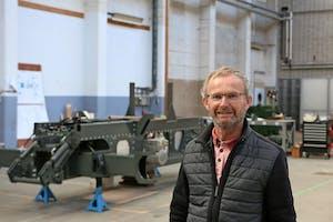 Paul van Ham, directeur MTT Tractors