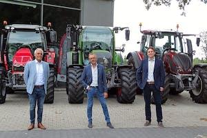De managers met nieuwe rollen binnen de Mechan Groep, van links Wim Hengeveld, Ronald van Hattem en Sander Scholten.