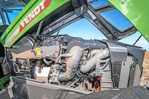 Deze 9 liter MAN-motor voldoet aan de Fase V-normen