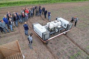 Inmiddels zijn er meerdere Robotti-veldrobots actief in Nederland. Foto: Matthijs Verhagen