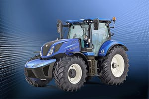 De start van de serieproductie van de methaangastrekker wordt nu verwacht in mei of juni 2021. Foto: New Holland