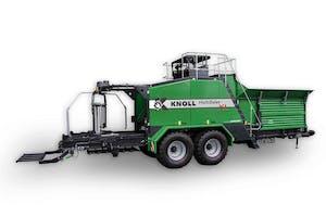 De Knoll MultiBaler XL zoals die nu te koop is.