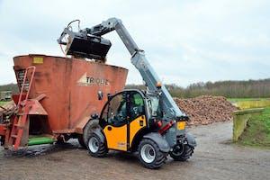 Tobroco-Giant bouwt en verkoopt compacte wielladers en verreikers. - Foto: Tobroco Giant