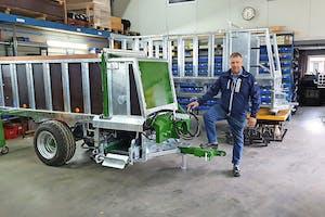 Jan van de Geer (53), Eigenaar Geertech Machines- Geertech Grondwerken in Leersum