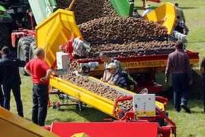 Een van de producten van Bijlsma Hercules op Potato Europe.