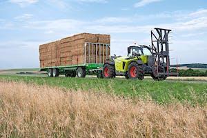 Claas noemt de nieuwe rijaandrijving Varipower 2, en deze wordt gebouwd door Linde. Foto's: Claas